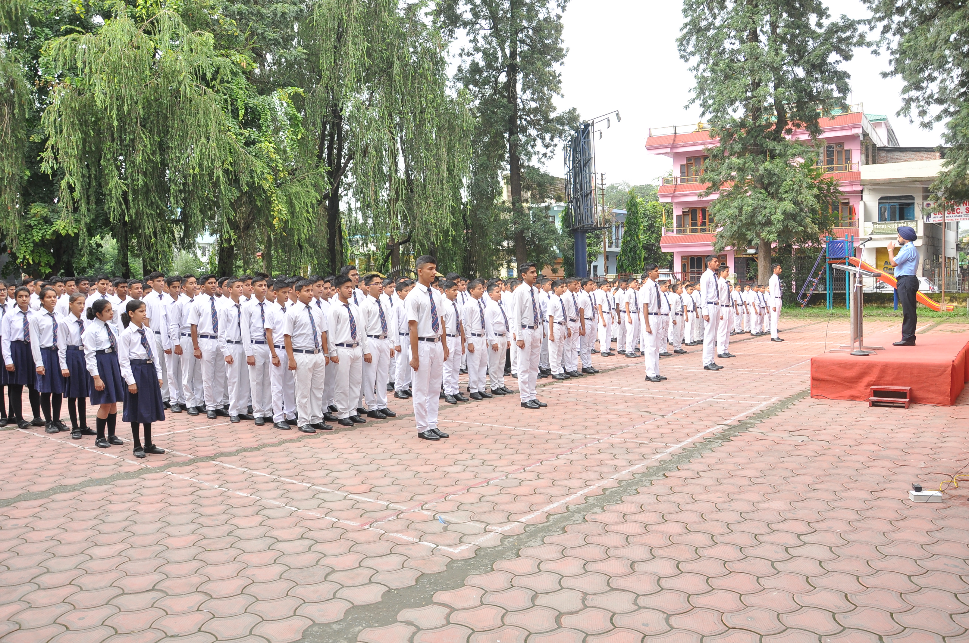 Oath-taking ceremony on Special Assembly (2)